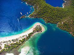 Belcekız and Blue Lagoon, Olüdeniz, Turkey  #Belcekız #BlueLagoon #Olüdeniz #Turkey #Maladeviagem