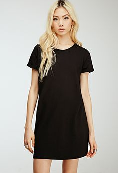 Classic T-Shirt Dress | Forever 21 - 2000156063 | Just the Comfy ...