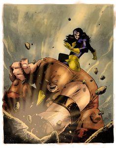 Juggernaut vs Kitty Pryde