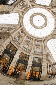 Interior of the Passage, the oldest indoor shopping arcade in the Netherlands; The Hague  (Photo courtesy: Den Haag Marketing)