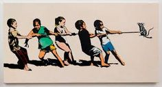 "Openings: Blek Le Rat – ""Ignorance is Bliss"" @ Jonathan LeVine « Arrested Motion Banksy, Blek Le Rat, Beaux Arts Paris, Ignorance Is Bliss, Stencil Graffiti, Spray Paint On Canvas, Funny Illustration, Illustrations, Poses"