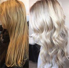 Magical Toning to Platinum - Hair Color - Modern Salon