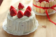 my next mission: strawberry shortcake in japanese style