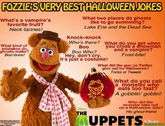Fozzie's Halloween Jokes