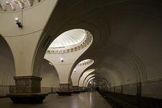 Moscow metro station Sokol