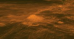 Lava flows might explain a hot spot seen in data from Venus Express spacecraft.