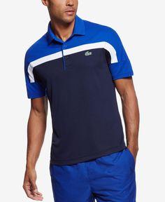 Lacoste Men s Sport Ultra Dry Colorblocked Polo Lacoste Sport, Lacoste Men,  Polo Online, 4915a7cd70