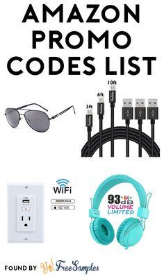 Amazon Promo Codes List.