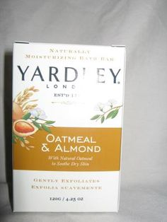 Yardley Soap Oatmeal and Almond - love to put these in my dresser drawers