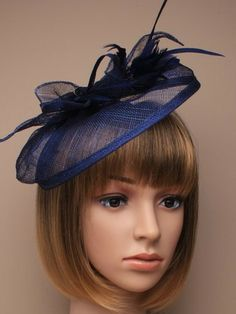NAVY BLUE LYDIA FASCINATORI think this is that expensive site. 8d19ea8351e5