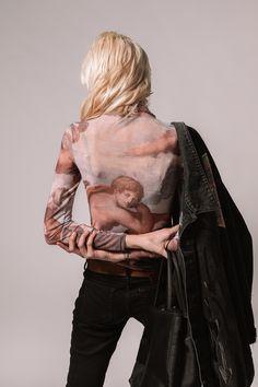 Adam and Eve shirt🍎 Exclusive for girl 👧 #streetwearfashion #chicshirt #edgestyle #streetwearbrand #lfdfashion