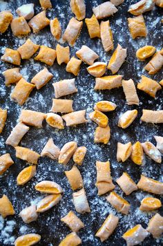 Sweet Potato Gnocchi with Balsamic Brown Butter from justataste.com