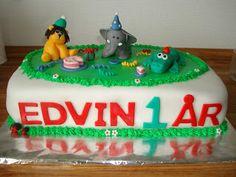 Til fødselsdagsfest hos krokodillen
