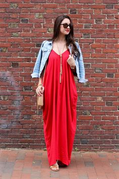La Mariposa x Kika Boutique Mexico: Harem Maxi Dress