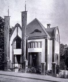 Peter Behrens, Behrens House (Dermstadt, Germany), 1901