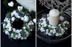 Xmas wreath with winter stars
