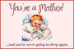 New mom card ;)