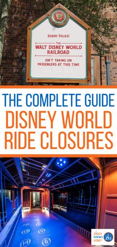 If you are planning a trip to Disney World this year, then you should be prepared for ride closures. Read this helpful list from Ziggy Knows Disney! We have the latest details on which rides and attractions are closed at Walt Disney World's theme parks. Disney World Guide, Disney World Secrets, Disney World Outfits, Disney World Vacation Planning, Disney Vacation Club, Walt Disney World Vacations, Disney Resorts, Disney Planning, Disney Travel
