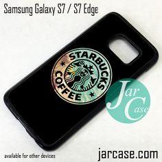 Starbucks Coffe Beach Phone Case for Samsung Galaxy S7 & S7 Edge
