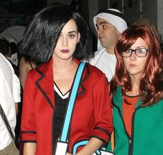 Daria and Jane Halloween costumes. Maybe Daria and Quinn would be better for us.
