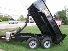 Trailer dump bed fabricated by M & M Certified Welding in Macedonia, Ohio
