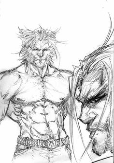 Michael Turner Wolverine Sketch More Turner @ http://groups.yahoo.com/group/MichaelTurner & http://groups.google.com/group/Aspen & http://www.facebook.com/ComicsFantasy & http://www.facebook.com/groups/ArtandStuff