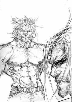 Wolverine again by Michael Turner