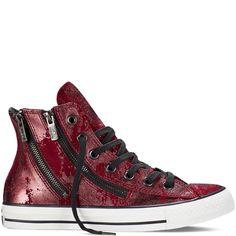 b30d7e0f836 Converse - Chuck Taylor All Star Dual Zip - Deep Bordeaux - Hi Top Cool  Converse