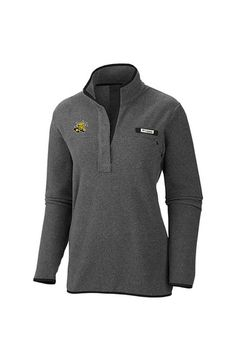 Wichita State Shockers Womens Grey Columbia Harborsize 1/4 Zip Pullover http://www.rallyhouse.com/wichita-state-shockers-womens-grey-harborside-1-4-zip-pullover-20720083?utm_source=pinterest&utm_medium=social&utm_campaign=Pinterest-WSUShockers 65.00