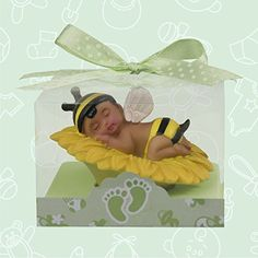 Welcome To Onlinepartycenter Your Online Source For Everything Party The Starts Here Ethnic Baby Shower Boy Bumble Bee Favor In Box