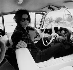 gary oldman's photo of jack white from the amex unstaged concert. AMAZING show!