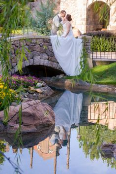 Fairy tale garden inspired portrait session at Epcot