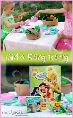Girls Birthday Party Idea