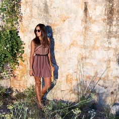 Summer's are hot on the Adriatic Sea, where European's flock to enjoy the pristine beaches on Croatia's many islands. This is the perfect time to wear evening summer dresses out to the bustling bars and clubs. This lace mini by Free People features subtle skin baring sheer elements and pretty lace details. I accessorized with this Will Leather Goods Cirrus Saddlebag in Natural, and some BASKE California sandals.