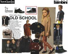 #VogueBambini - Aprile 2014  Protagonista la sneaker firmata #NeroGiardini Junior!