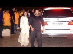 Salman Khan at Mukesh Ambani's Ganesh Chaturthi Party at Antilla.