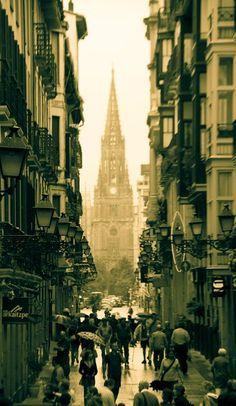 soon,   I will come,  I will see,  and I will eat.    San Sebastian - Espana