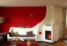 Lehm und Feuer  - sobe din lut prelungite cu mobilier