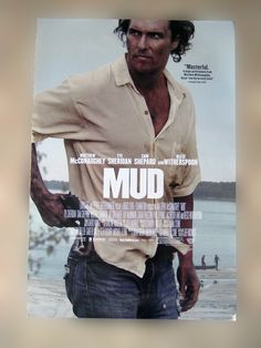 """These are the original movie posters given to VIP's at the Warner Bros. premier of """"Mud"""" starring Matthew McConaughey and Reese Witherspoon. 100% authentic and have never been hung or displayed. MINT"""