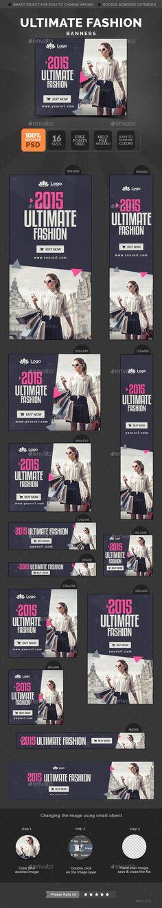 Ultimate Shopping Banners Template. Download: http://graphicriver.net/item/ultimate-shopping-banners/11241328?ref=ksioks