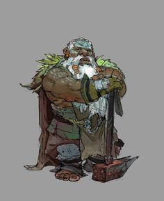 Character Concept, Character Art, Concept Art, Dnd Dwarf, Bored Games, Dnd Characters, Fictional Characters, Fantasy Rpg, Dungeons And Dragons