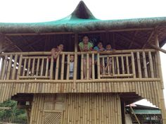 two storey nipa hut, bahay kubo Bahay Kubo, Bamboo House, Cabin, Park, House Styles, Modern, Home Decor, Trendy Tree, Decoration Home
