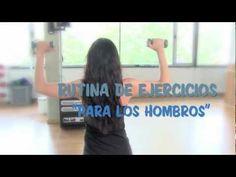 Rutina de ejercicios para los hombros  www.secretosdechicas.es
