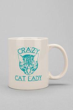 Crazy Cat Lady Mug #urbanoutfitters