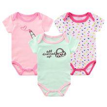 2017 do corpo do bebê bodysuit clothing para a roupa do bebê recém-nascido da menina do menino do bebê roupas bodysuit macacão de algodão bonito bolsa ropa bebes(China (Mainland))
