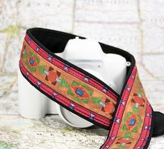 Camera Strap dSLR Southwestern Colors Tribal Pocket Quick by ten8e