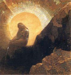 Melancholy (1876) Redon