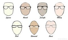 The Best Glasses for Your Face / Face Shape Guide
