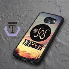 5 Second Of Summer Samsung Galaxy S6 Edge Black Case