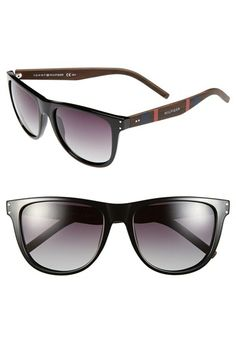 b8d647aeea89 Tommy Hilfiger 55mm Sunglasses Stripes Fashion